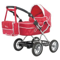 Silver Cross Ranger Pram with Shoulder Bag - 77cm