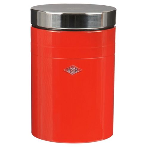 Wesco 2 Litre Classic Canister in Red