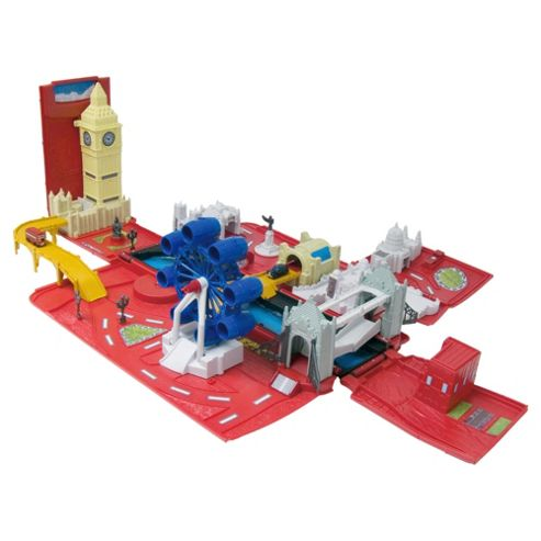 Fuel Line Micro Minis London Bus Playset
