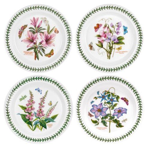 Portmeirion Botanic Garden Set of 4 25cm Plates