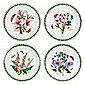 Portmeirion Botanic Garden Set of 4 25cm Plates