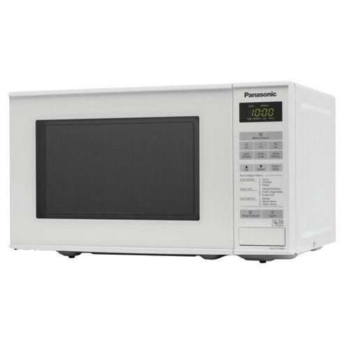 Panasonic NN-E271WMBPQ 20L Solo Microwave, White