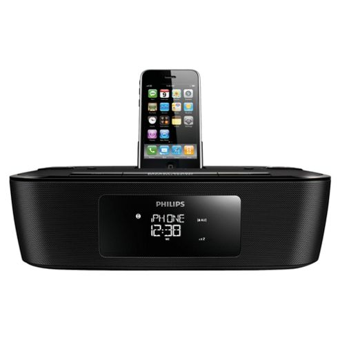 Philips DCB242/05 iPhone Dock Clock Radio