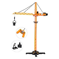 JCB Remote Control Crane Tower Construction Toy