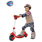 Red Ladybug 3-Wheel Scooter