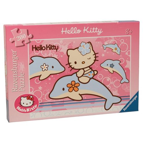 Hello Kitty XXL 200 Piece Jigsaw Puzzle- Assortment – Colours & Styles May Vary