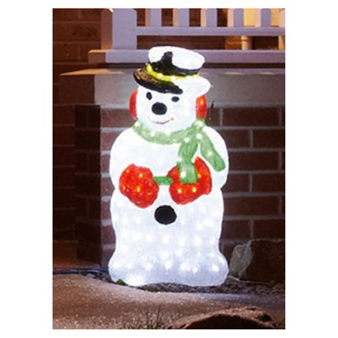 Outdoor Novelty Snowman LED Christmas Lights