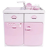 Casdon Electronic Sink Unit Pink
