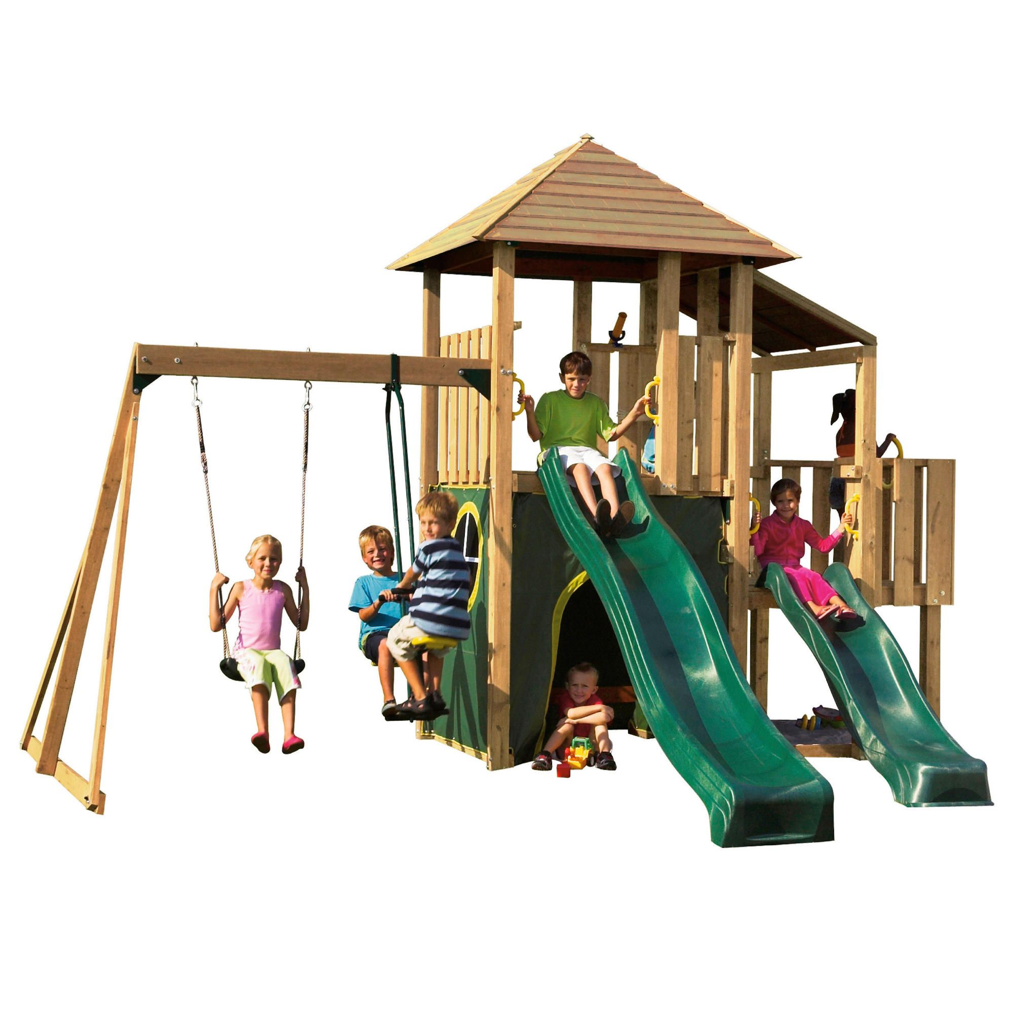Plum Bison Wooden Play Centre at Tesco Direct