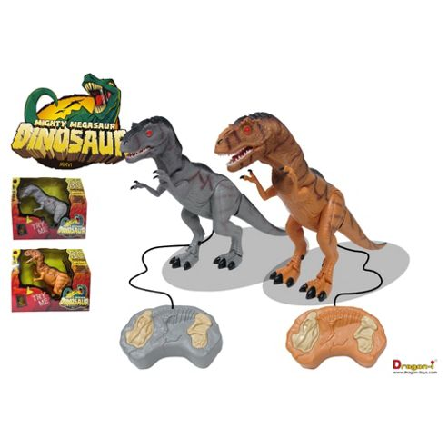 Radio Controlled Walking Dinosaur (one supplied only)