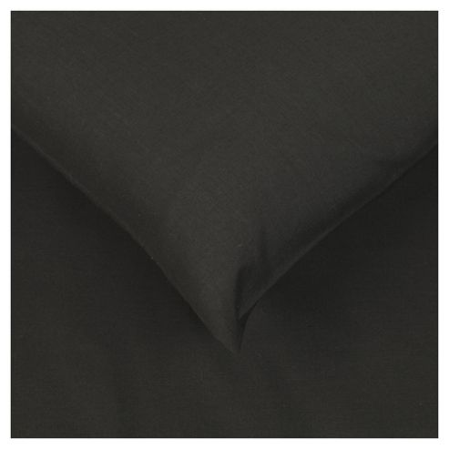 Tesco Pillowcases Set of 4 Black