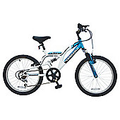 "Terrain Etna 20"" Dual Suspension Kids' Mountain Bike - Boys"