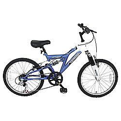 """Terrain Etna 20"""" Kids' Dual Suspension Mountain Bike"""