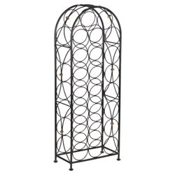 Castello 23 bottle Wine rack, Black