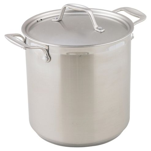 Swift Supreme Deep 5.5 Litre Stockpot, Stainless Steel