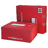 Post Office medium posting box, 5 pack