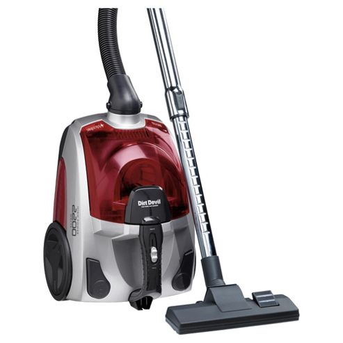 Dirt Devil DCC048 Bagless Cylinder Vacuum Cleaner