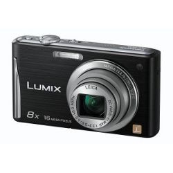 Panasonic FS35 Black 8x optical zoom 16MP camera