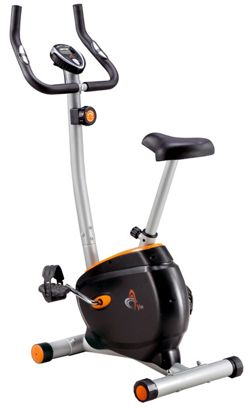 V-fit BK-11 Upright Magnetic Exercise Bike