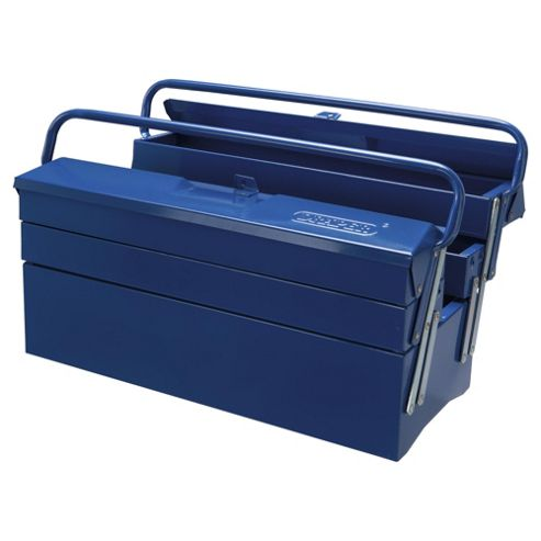 Draper 18L Extra Long Four Tray Cantilever Toolbox