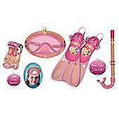 Disney Princess Snorkel Mask & Flipper Set