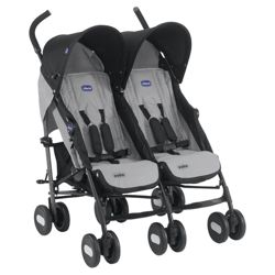 Chicco Echo Twin Stroller, Moonstone