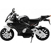 Licensed BMW 12v Kids Electric Motorbike Grey