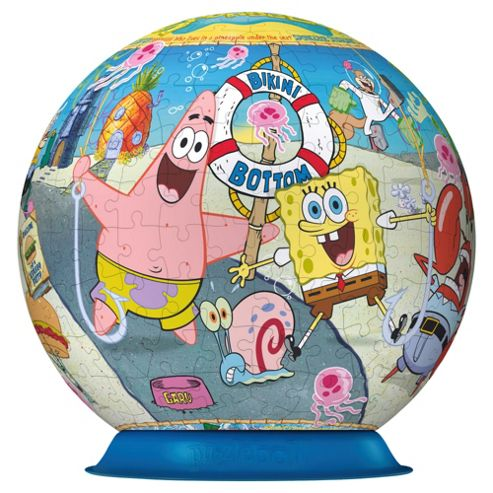 Sponge Bob Square Pants Voyage Jigsaw Puzzleball, 270 Piece