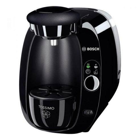 BOSCH Tassimo TAS2002GB T20 Multi Beverage Coffee Machine, Black