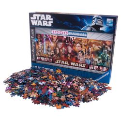 Star Wars Panoramic 1000 Piece Jigsaw Puzzle