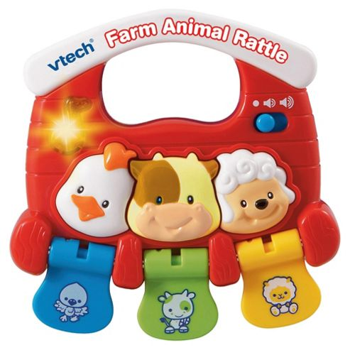 Vtech Farm Animal Rattle (110221)
