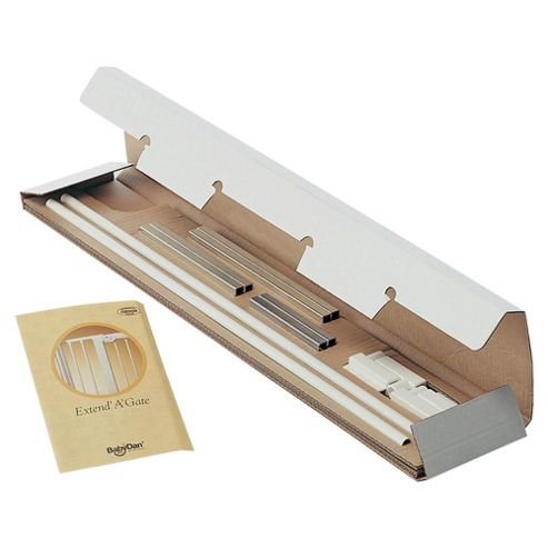 Babydan 13Cm Extension Kits, Silver