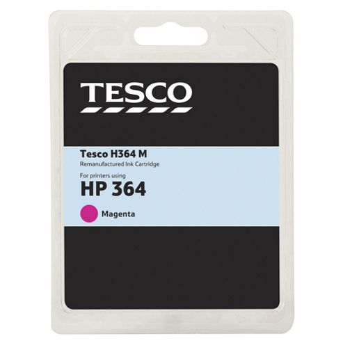 Tesco H364M Magenta Printer Ink Cartridge (Compatible with printers using HP 364 Magenta Printer Ink Cartridge)