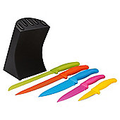 Tesco Coloured Knife Block
