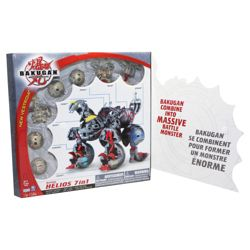 Bakugan 7 In 1 Helios Or Maxus One Supplied Only