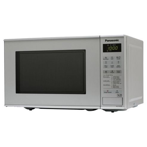 Panasonic Microwave Oven with Grill NN-K181MMBPQ 20L, Silver