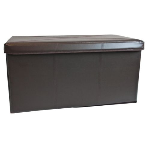 Leather Effect 2 Compartment Trunk