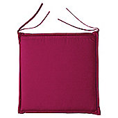 Cushion Seat Pad 2pk, Burgundy