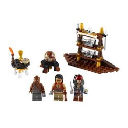 LEGO Pirates of the Caribbean the Captain's Cabin 4191