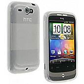 ProTec Glacier Case HTC Wildfire Frosted Clear