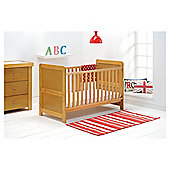 East Coast Atlanta 3 Piece Room Set, Natural