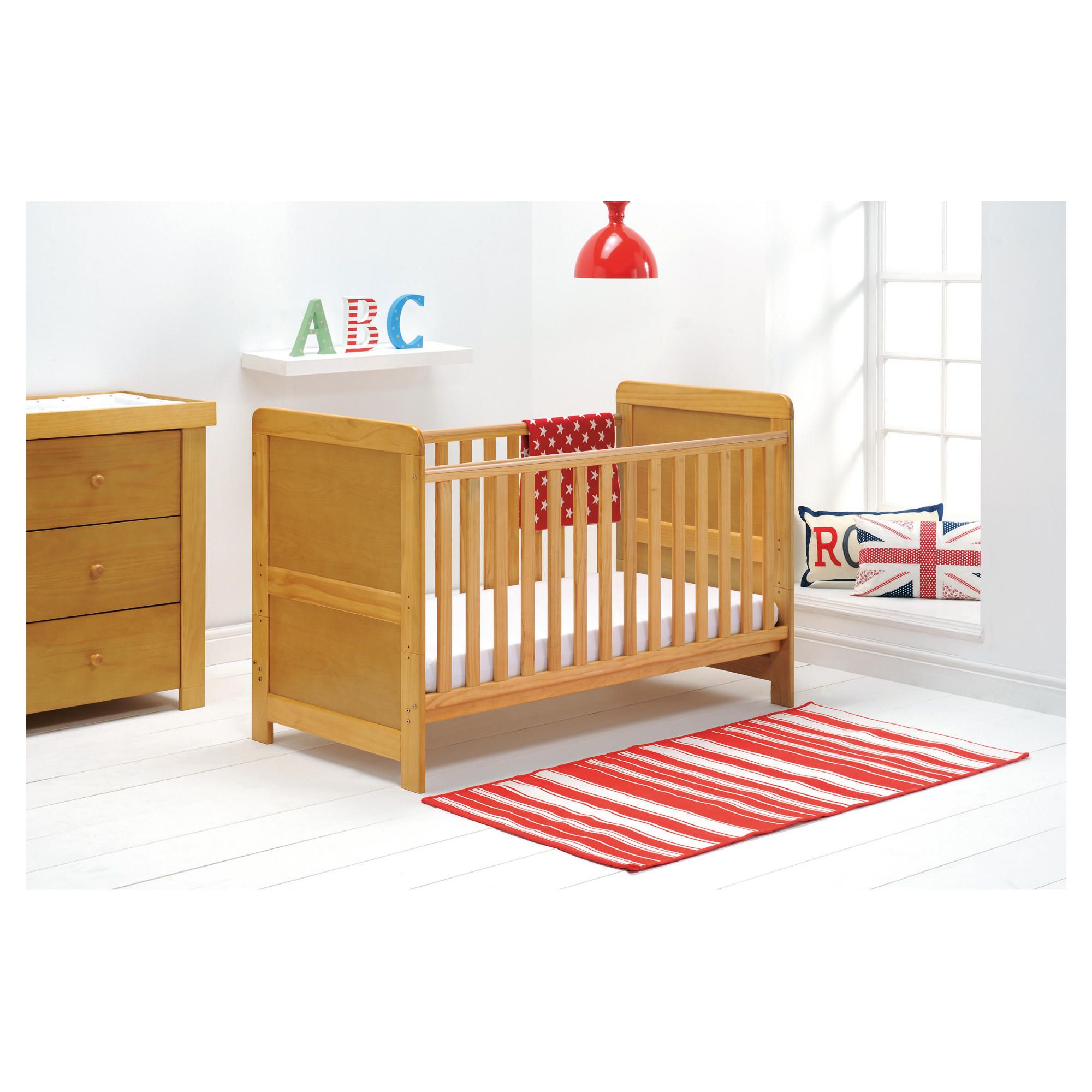 East Coast Atlanta 3 Piece Room Set, Natural at Tesco Direct