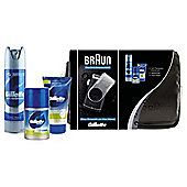 Braun Travel Bag with M90 Mobile Shaver and Gillette Skin Care Set