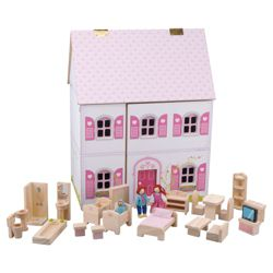 Carousel  Dolls House Wooden Toy