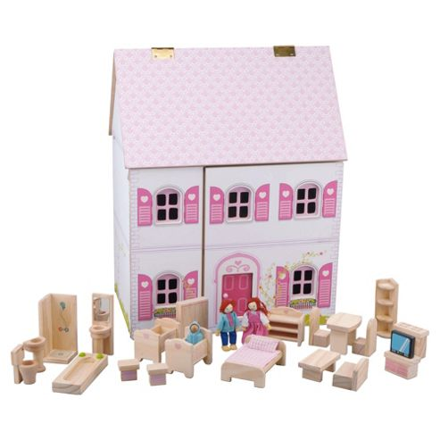 Carousel Deluxe Wooden Dolls House