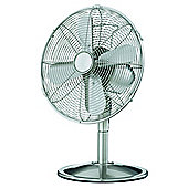 "Tesco DFMM1211 12"" Metal Desk Fan"