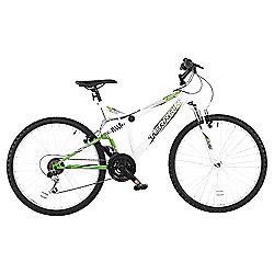 "Terrain Matterhorn 26"" Unisex Dual Suspension Mountain Bike, 18"" Frame"