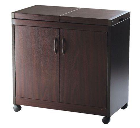 Connoisseur Hl6232Db Hostess Trolley Mahogany