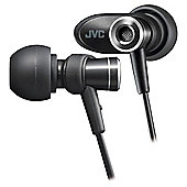 JVC Micro HD In-Ear Headphones - Black HA-FXC51-B
