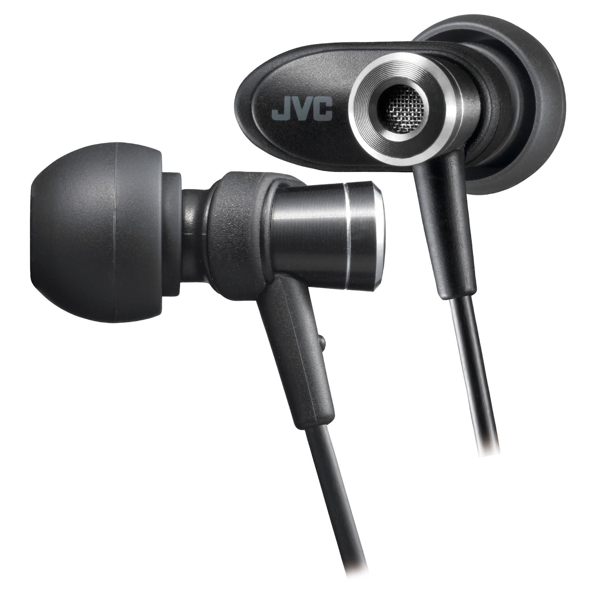 JVC Micro HD In-Ear Canal Headphones Black HAFXC51BE